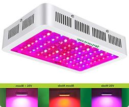 iPlantop LED Grow Light 1000w, 3 Chips LED Plant Growing Lam