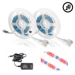 Litake LED Grow Light, 24W 6.6ft 5050 Waterproof Flexible So
