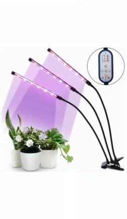 Grow Light, 36W Cycle Timing Plant Red/Blue Spectrum, 8 Dimm
