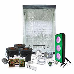 2x4 LED Grow Tent Kit Complete with AgroMax 2x4  Tent + HTG