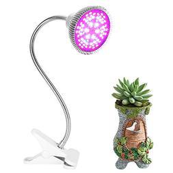 Morsen LED Grow Light 50W Clip Desk Lamp Full Spectrum with