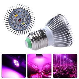 Xelparuc 18W Grow Light Bulbs, LED Grow Lights for Indoor Pl