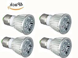 JKLcom LED Grow Light Bulbs 5W Plant Grow Light for Indoor P
