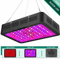 1000w LED Grow Light with Bloom and Veg Switch,Yehsence Dais