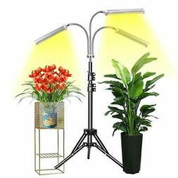 Grow Light  Floor LED Grow Light with Stand, Tri-Head Sunlik