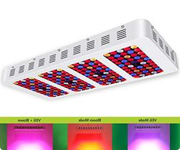iPlantop Newest 2000w LED Grow Light High Illumination,3 Ch