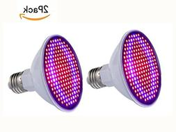 JKLcom LED Grow Light 30W Indoor Plants LED Grow Light Bulb