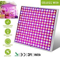 Grow Light Kit Panel LED Lamp Full Spectrum Hydroponics Plan