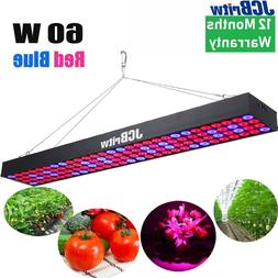 JCBritw LED Grow Light for Indoor Plants Red Blue Spectrum P