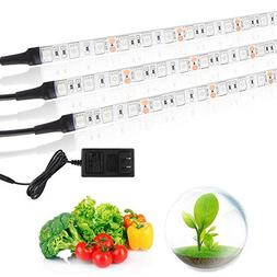 Grow Light Plant,BLIIFUU Adjustable 3pcs Timing Growing Lamp