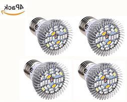 JKLcom LED Grow Light 10W LED Plant Grow Light Bulb E26 Grow