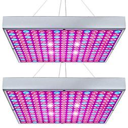 Hytekgro LED Grow Light 45W Plant Lights Red Blue White Pane