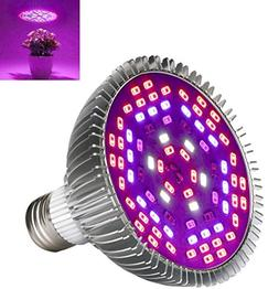 JKLcom LED Grow Light Full Spectrum 50W LED Grow Light Bulb