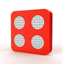 KOSCHEAL 1000W LED Grow Light Full Spectrum 4 Holes Optical