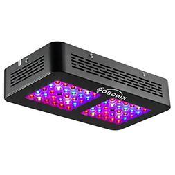 KINGBO 300W LED Grow Light Full Spectrum Double Switch LED P