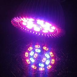 Alloet 18W Full Spectrum E14/ E27/ GU10 Base LED Grow Lamp B