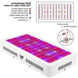 Morsen 1200W Led Grow Light Full Spectrum Panel Lamp for Hyd
