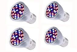JKLcom LED Grow Light Full Spectrum 8W LED Plant Grow Light