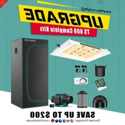Mars Hydro TS 600W Led Grow Light Veg Flower Plant +2'x2' In