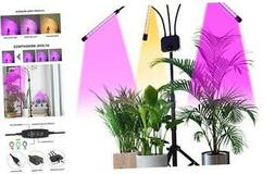 Grow Light with Stand, Tri-Head 60W Floor Plant Lights for I