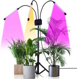 Grow Light With Stand,Ghodec Tri-Head 60W Floor Plant Lights