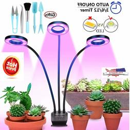 Grow Light with Timer for Indoor Plants,Auto On/off 30W LED