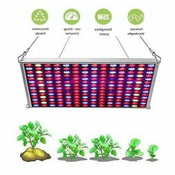 JCBritw LED Grow Light for Indoor Plants Full Spectrum UV Re
