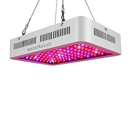 ColoFocus 600W LED Indoor Plants Grow Light Kit, Full Spectr