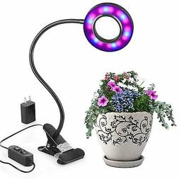 LED Grow Lights,10W Adjustable 6 Level Desk Plant Lamp with