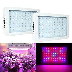 BEAMNOVA LED Grow Lights Panel 300w Plant Grow Bulbs Full Sp