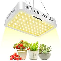 Lightimetunnel 600W LED Grow Lights, 3500K Full Spectrum 380