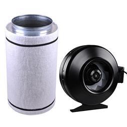 8 inch Grow Room Ventilation 720 CFM Carbon Filter & Fan