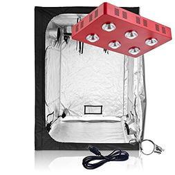 Oppolite Grow Tent Kit Complete Package LED1200W Full Spectr