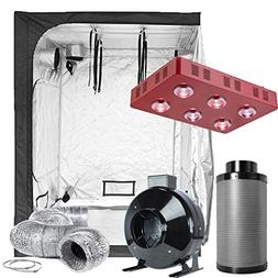 TopoLite Grow Tent Room Complete Kit Hydroponic Growing Syst