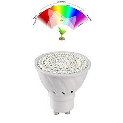 WXLAA GU10 36LED Full Spectrum Planting Grow Light Bulb Veg