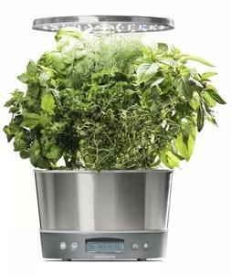 AeroGarden Harvest Elite 360 - Stainless Steel Garden Growin