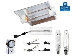 Horticulture 1000 Watt MH HPS Grow Light System Set Kit for