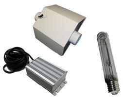 400W HPS Digital Ballast, Bulb and Deluxe Reflector Combo- 1