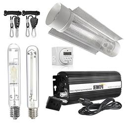 iPower 1000 Watt HPS MH Digital Dimmable Grow Light System K