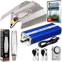 Yield Lab Horticulture 1000w HPS Grow Light Wing Reflector K