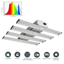 hydroponic led240w grow light fixture kit actual