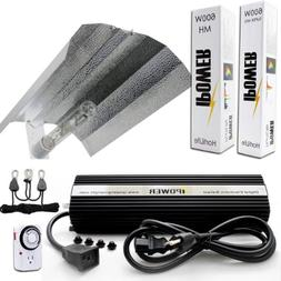 iPower 600 Watt HPS MH Digital Dimmable Grow Light System Ki