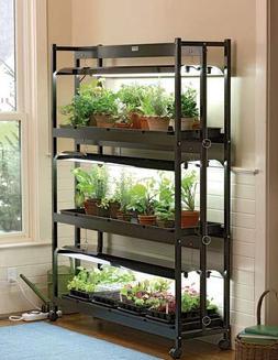 Indoor Grow Light, 3-Tier Stand SunLite Light Garden With Pl