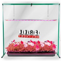 Indoor Plant Grow Light System Kit 4 Feet Garden Stand Seeds