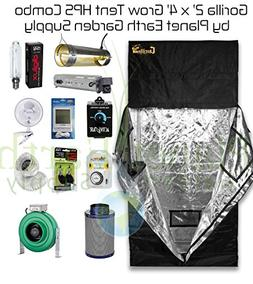 2' x 4' Gorilla Grow Tent Kit 400W HPS Combo Package #1