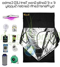 4' x 4' Gorilla Grow Tent Kit KIND LED XL750 Package #1