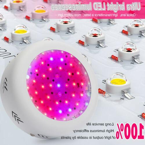 1-4pcs 150W UFO LED Grow Light Panel Indoor Hydroponic Plant