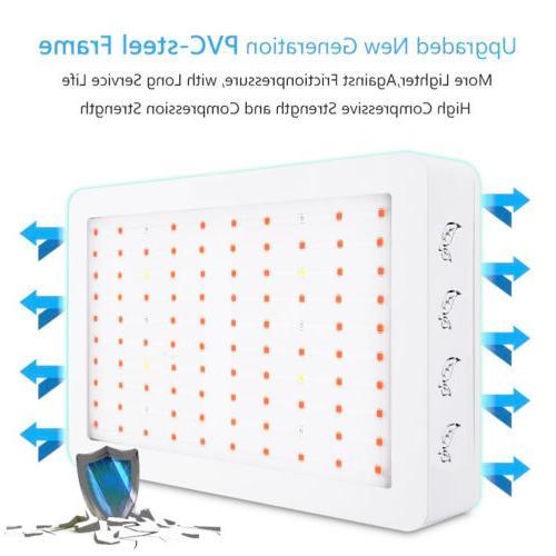 1000W/2000W LED Grow Full Veg Indoor Lamp&Panel #D