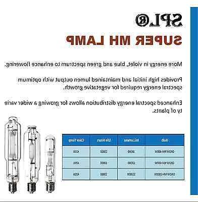 1000W 400W MH/HPS Light Wing System Kit for