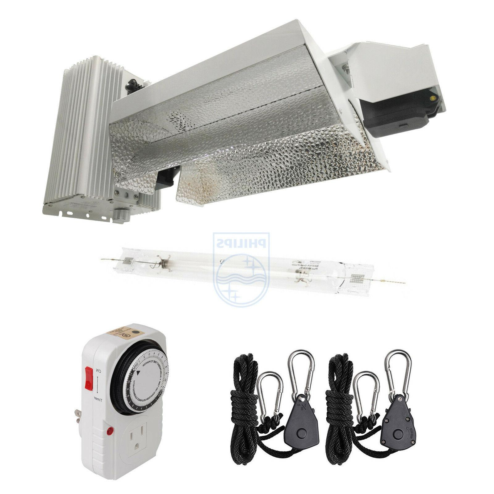 1000w double ended grow light fixture open